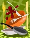 Utensilio de la cocina stock de ilustración