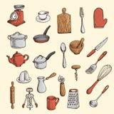 Utensilio de la cocina Fotografía de archivo libre de regalías