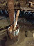 Utensilios antiguos nativos Foto de archivo