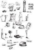 Utensilios de cocina Imagen de archivo