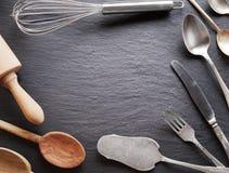 Utensilios de cocinar Imagen de archivo