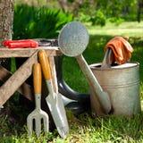 Utensilios de jardinería Imagen de archivo