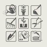 Utensilios de jardinería. libre illustration