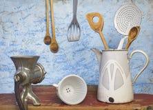Utensilios de la cocina fotos de archivo libres de regalías