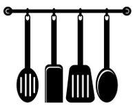 Utensilios De La Cocina Ilustracion Del Vector Ilustracion De Fria