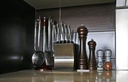 Utensilios de la cocina Fotografía de archivo libre de regalías