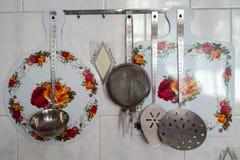 Utensilios de la cocina Fotografía de archivo
