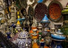 Utensilios marroquíes Fotos de archivo libres de regalías