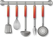 Utensils. Vector illustration of kitchen utensils Stock Photography