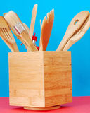 Utensils. This is a shot of some common kitchen utensils Stock Photography