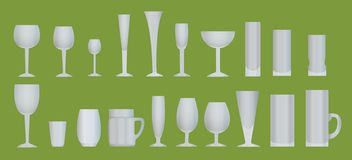 Utensils for drinks Royalty Free Stock Photos