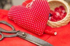 Utensils for handcraft Stock Photo