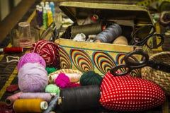 Utensils for handcraft Stock Images