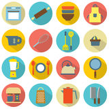 Utensils Icons Royalty Free Stock Photography