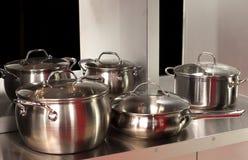 Utensils in the kitchen Stock Photos