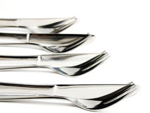 Utensils Row Stock Photo
