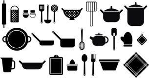 Utensílios da cozinha Foto de Stock