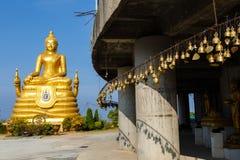 Utfärd till templet stora Budda Royaltyfri Bild