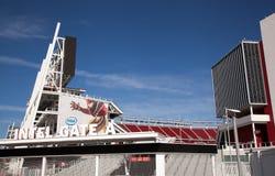 Utfärda utegångsförbud för A 49' ers-stadion San Jose Fotografering för Bildbyråer