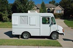 utför service den förorts- lastbilen Arkivbild