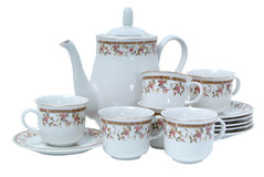utför service tea Royaltyfri Foto