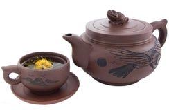 utför service tea Royaltyfri Bild