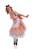 utföra för ballerina royaltyfria foton