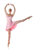 utföra för ballerina Royaltyfri Fotografi