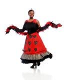 utföra för dansare Arkivbilder