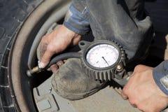 utförande service gummihjul Fotografering för Bildbyråer