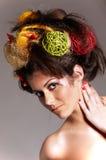 utforma för hår Royaltyfri Fotografi