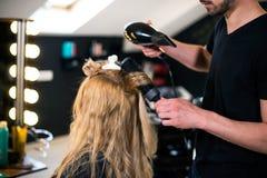 Utforma hår Royaltyfri Bild