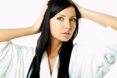 utforma kvinna för hår royaltyfria bilder