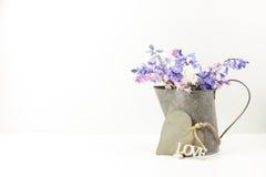 Utformad blom- bild för materiel Royaltyfria Bilder