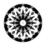 Utformar geometriska cirklar för Mandalamodell blommor utformar garnering vektor illustrationer