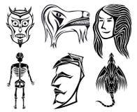 utformat s royaltyfri illustrationer