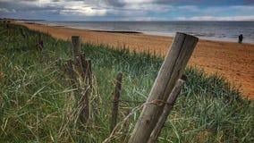 Utgående strand för SVÄRD i Frankrike fotografering för bildbyråer