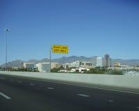 Utgång till centret, Tucson, AZ Arkivbilder