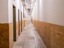 Utgångskorridor Arkivfoto