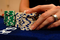 utgångspunkt poker08 Royaltyfria Bilder