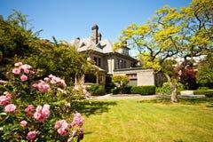Utgångspunkt & trädgård royaltyfri bild