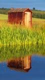 Utgjutelseljus på Doonen Royaltyfri Bild