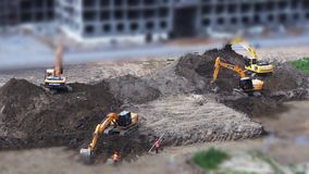 Utgrävning stock video