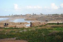 Utgrävningar av den gamla staden royaltyfri bild