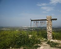 utgrävningisrael park Arkivfoto