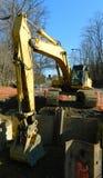 Utgrävningutrustning arkivfoton