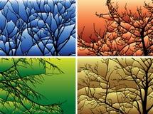 utgrening vektor illustrationer