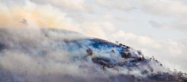 Uthärda flammorna Arkivbilder