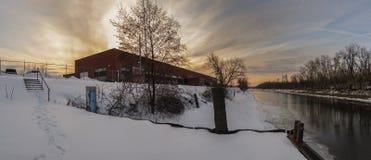 Utica Marsh Wildlife Management Area Building stock afbeelding