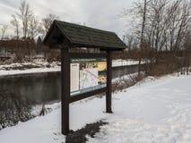 Utica Marsh Wildlife Management Area royalty-vrije stock foto's